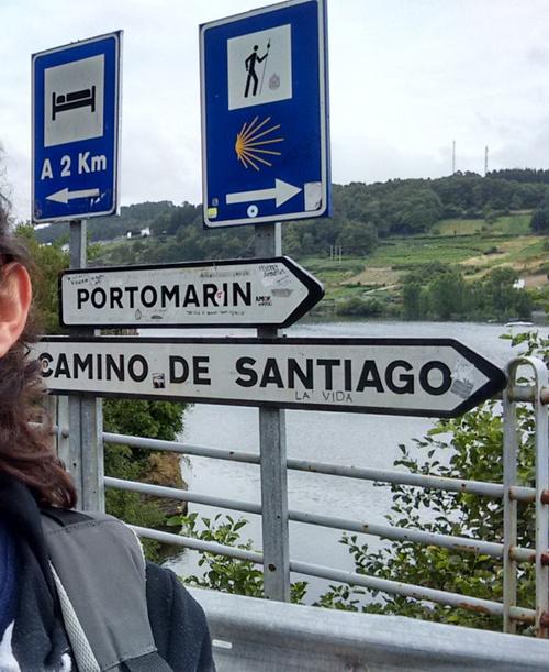 Señal Portomarín