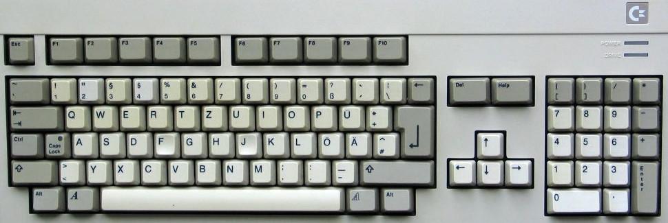 Teclado de Amiga 500