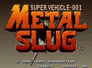 Gngeo: Metal Slug