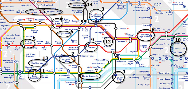 Mapa De Londres Metro Pdf.Londres Cogeme La Matricula